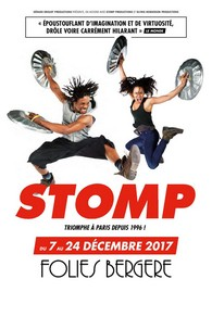 Stomp - Follies Bergère